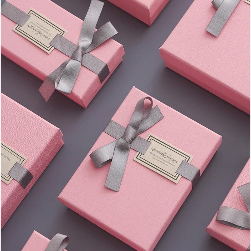 Butterfly Tie Gift Box Exquisite Anniversary Valentine Day Birthday Present Box Creative Wedding Candy Box