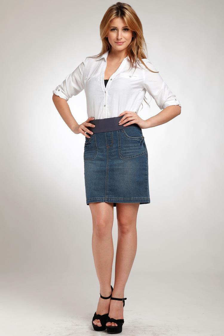 Popular Stretch Denim Skirt-Buy Cheap Stretch Denim Skirt lots ...