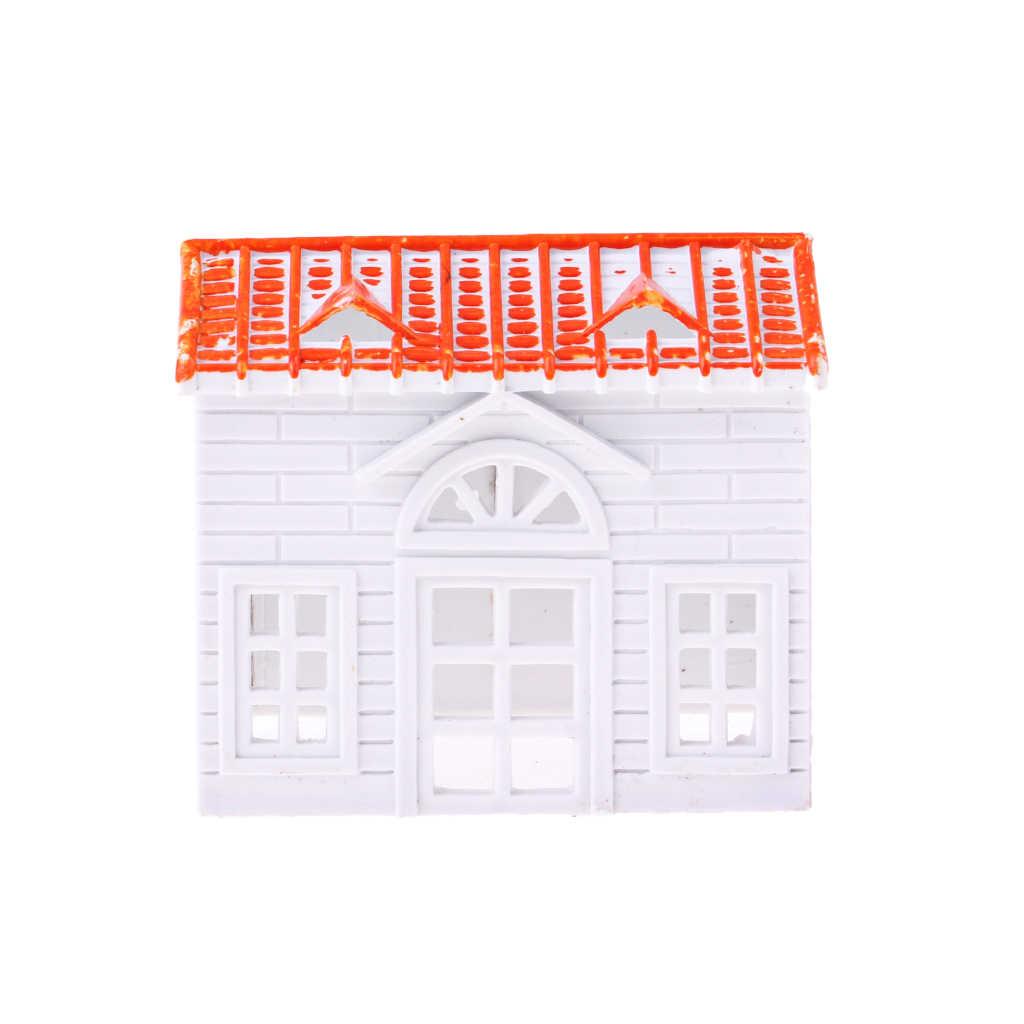 1 Ngôi Nhà Nhỏ Mô Hình Biệt Thự Tự Xây Dựng Cát Bố Trí Phong Cảnh Vật Liệu Phụ Kiện DIY