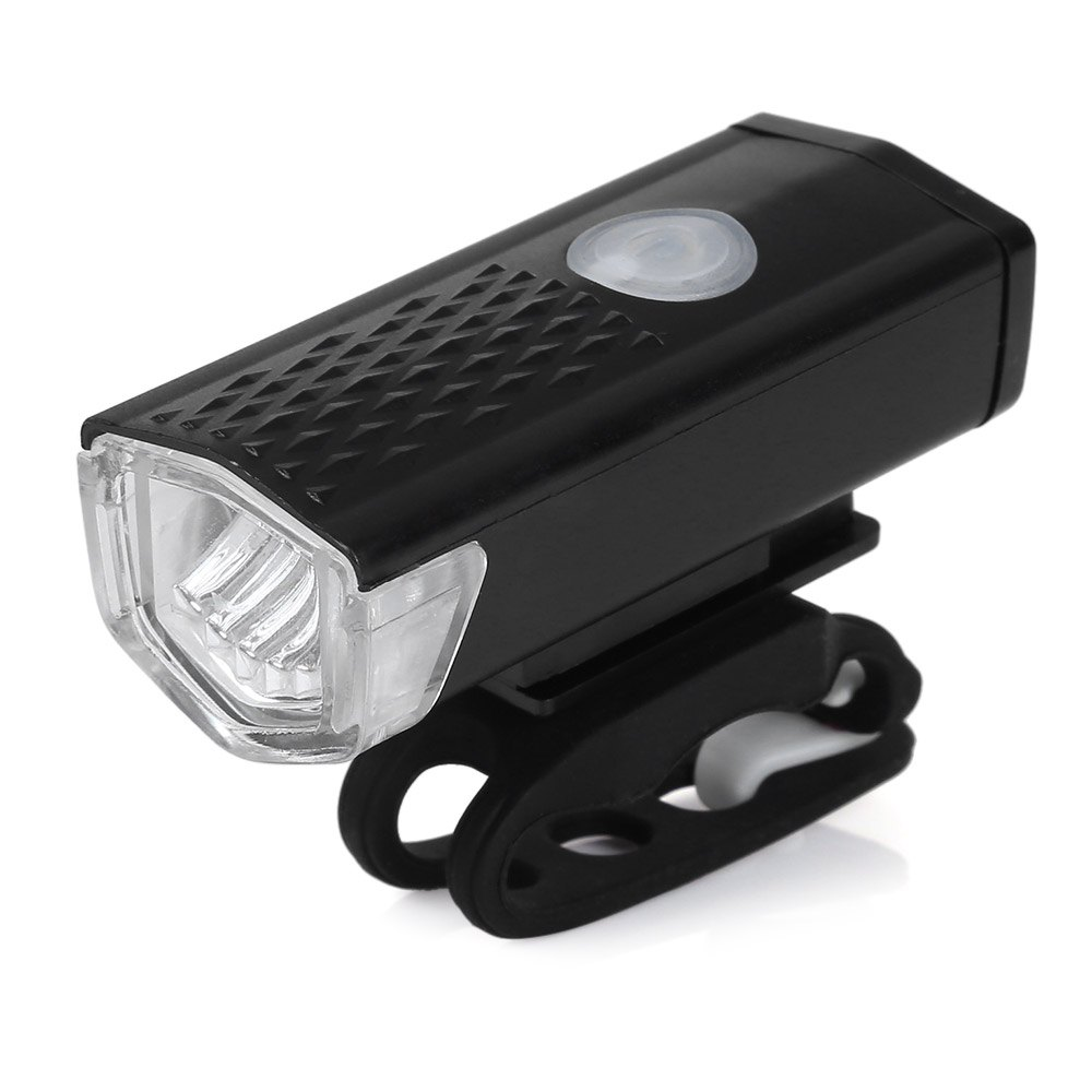 300LM Cycling Bicycle LED Lamp USB Rechargeable Bike Front Light Waterproof CREE High Power Head Flashlight