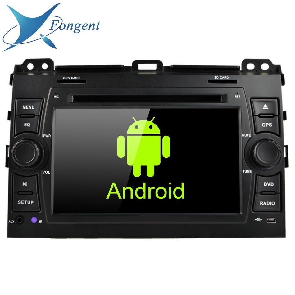 for Toyota Prado Land Cruiser 120 2003 2010 2DIN Android 8 0 4GB 32GB Car DVD