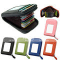 New Mens/Womens Fashion Mini Leather Wallet ID Credit Cards Holder Purse Brand Fanmecy