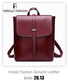 HTB1LaUyXsnrK1RjSspkq6yuvXXaY Herald Fashion Backpack Women Leisure Back Pack Korean Ladies Knapsack Casual Travel Bags for School Teenage Girls Bagpack