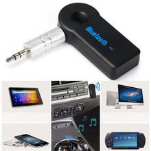 Universal 3.5mm Streaming Car A2DP Wireless Bluetooth Car Kit AUX Audio Music Receiver Adapter Hands-free with Mic For Phone MP3