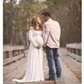 Accesorios de Fotografía de maternidad Embarazada Gasa Vestido de Vestidos de Ropa de Embarazo Ropa Estudio Sesión de Fotos de Regalo Baby Shower
