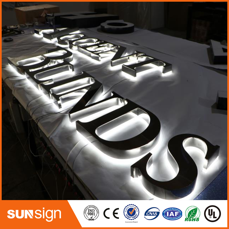 USA And Canada Market LED Backlit Letters