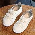 Дети Белые Туфли 2 Ремни Мальчики Спортивная Обувь Малышей Девушки Кроссовки Мода Детские Первые Ходоки Для Случайных