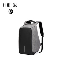 HHD-DJ USB Charge Anti Theft Backpack Men Travel Security Waterproof School Bags College Teenage Male 15inch Laptop