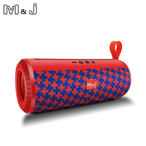 Image 4 - M&J Wireless Bluetooth portable Speaker Stereo Subwoofer column loudspeaker+TF Built in Mic Bass FM USB MP3 Sound Boom Box