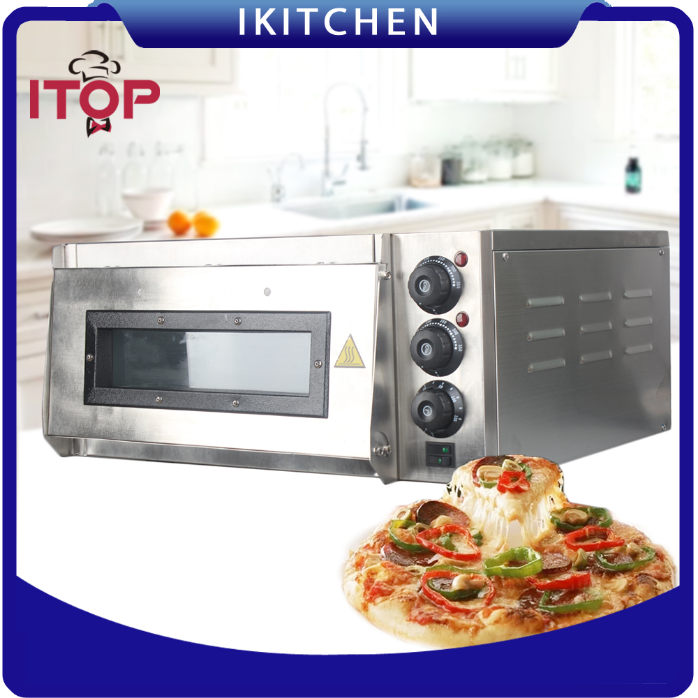 Commercial Pizza Oven Timer Electric Pizza Oven Commercial Ceramic Stone CE Certificate