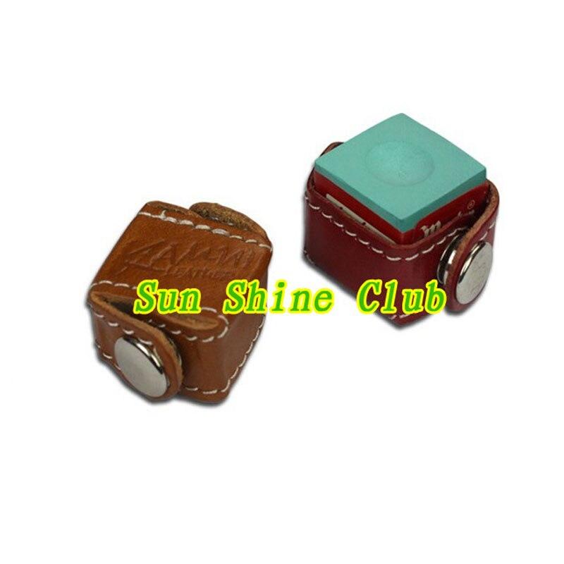 Xmlivet 5 шт./лот натуральная кожа держатели Камуи мел/бильярд снукер мел держатель/клетка hotsales высокого качества