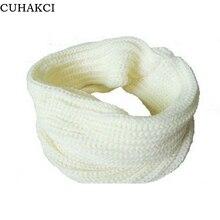 2017 New Fashion Korean autumn winter scarf women Warm Knit Neck Circle Wool Blend Cowl Snood Ring Scarves Long Scarf Shawl Wrap