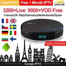 HK1 Plus Europa IPTV Box Full Hd IPTV Frankrijk Arabische Turkije Duitsland UK IPTV Italië Portugal Spanje Italia IP TV android 8.1 Tv Box