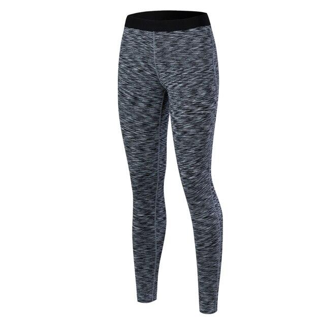 Marca Pantalones de yoga mujeres Sport ropa cintura elástica Yoga Leggings  ropa deportiva fitness gym Correr 3e8f0fecb40b