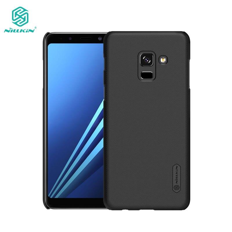 La sfor Samsung A8 2018 Cas Nillkin Givré Bouclier Cas Dur de Couverture Pour Samsung Galaxy A8 Plus 2018 5.6 ''& 6.0''