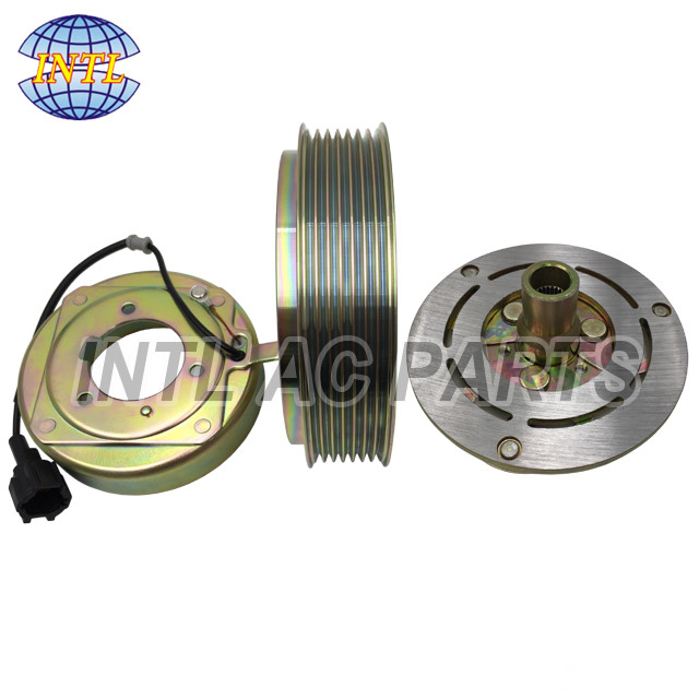 AC COMPRESSOR CLUTCH KIT FOR VOLKSWAGEN AUDI NEW PULLEY BEARING CLUTCH PLATE
