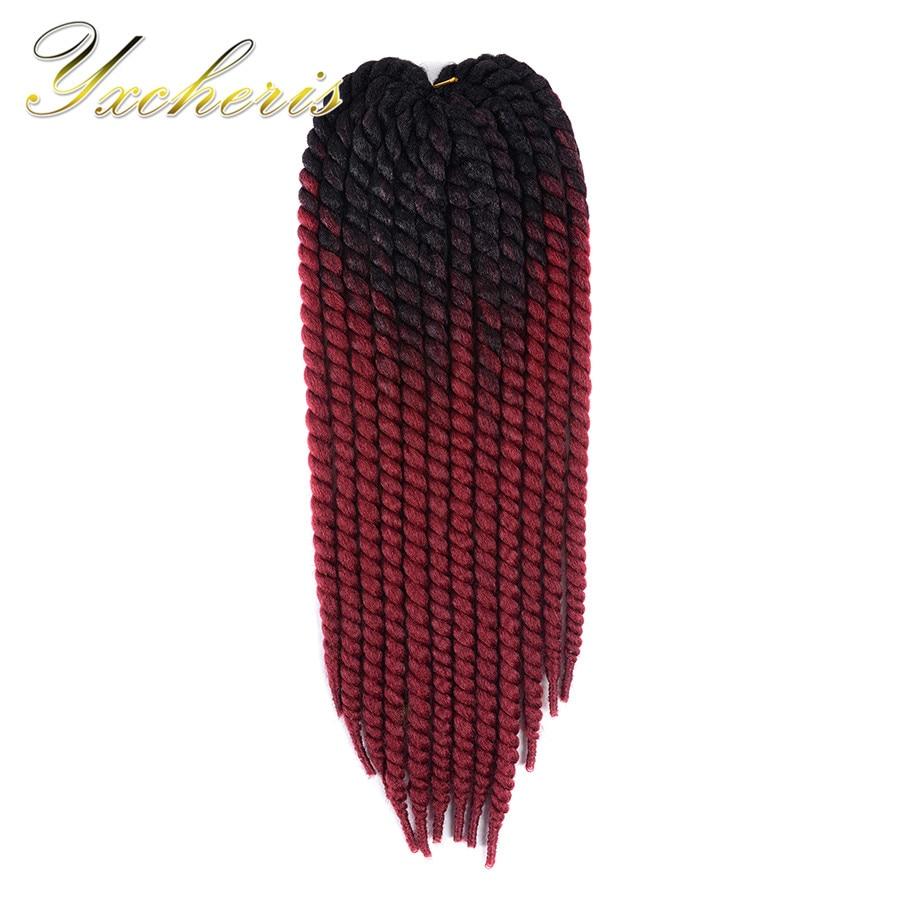YXCHERISHAIR Havana Mambo Twist Crochet Braiding Hair 1Pcs/pack 22