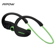 Mpow MBH6 Updated Cheetah 4 1 Bluetooth Headset Headphones Wireless Headphone Mic AptX Sport Earphone for