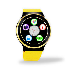 8G Memory ZGPAX S99 GSM 3G Quad Core Android Smart Watch With 5.0 MP Camera GPS WiFi Bluetooth V4.0 Pedometer Heart Rate PK Geak