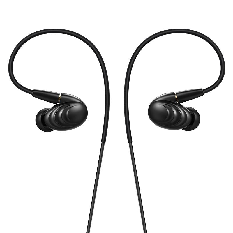 FiiO Triple Driver híbrido en la oreja auriculares F9, FiiO auricular F9, fiiO de audífonos dinámicos F9 para iPhone/Xiaomi/Huawei-in Auriculares y cascos from Productos electrónicos    1