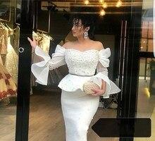 Women Off Shoulder White Mesh Dresses Pearl Beads Dress Beading Elegant Patchwork Dress Vestidos De Festa недорого