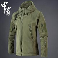Winter Military Tactical Fleece Jacket Men US Army Polartec Sportswear Clothes Warm Pockets Outerwear Casual Hoodie