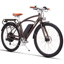 26inch electric bicycle  Lithium battery variable speed retro 48V City e-bike