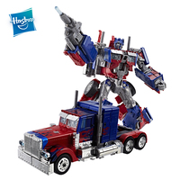 Hasbro Transformers Toys Movie 10TH Anniversary Edition Optimus Prime Autobots Leader Orion Pax Collection Model With VoiceFlash
