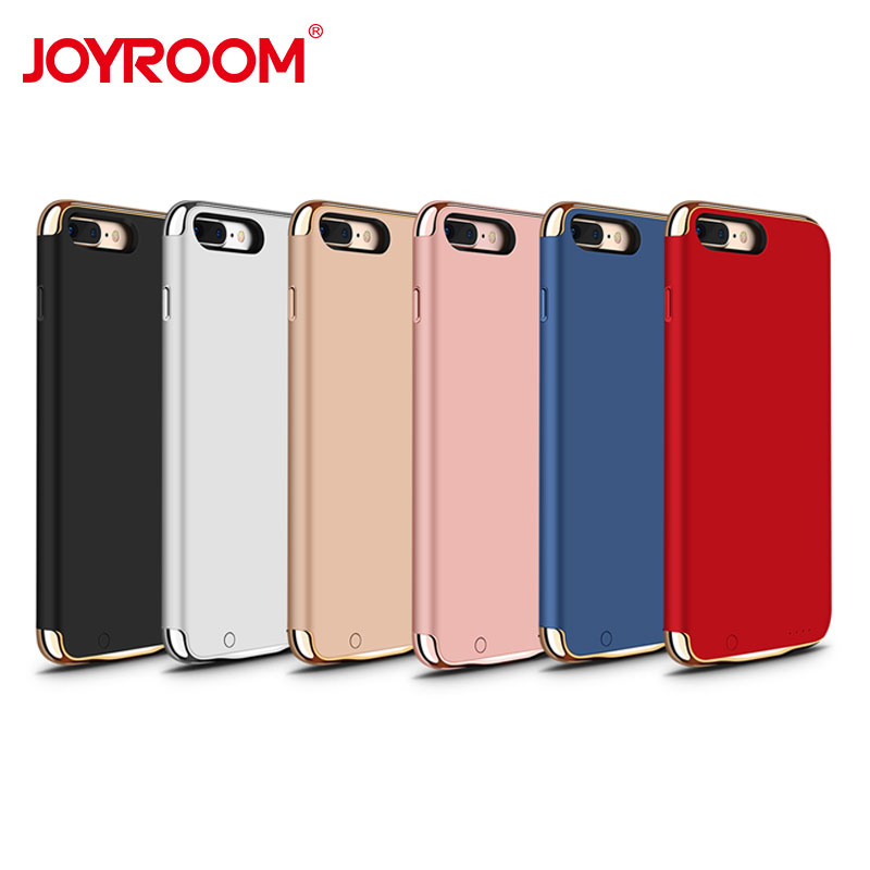 Battery Charger Case Cover Battery Case For iPhone 7 Plus Power Bank Charing Case For iPhone 8 Plus External Backup Battery