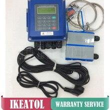 Цифровые Ультразвуковые жидкостные расходомеры TUF-2000B-TS-2 преобразователь DN15mm-100mm настенный тип IP67 ЗАЩИТА расходомер