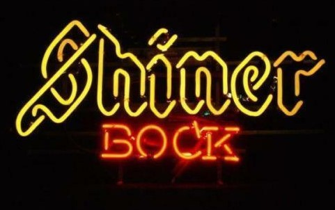 Custom Shiner Bock Glass Neon Light Sign Beer Bar