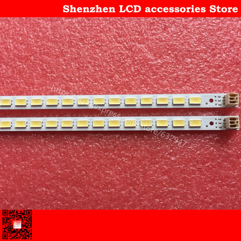 2piece lot  100percentNEW   FOR Samsung LJ64-03567A SLED 2011SGS40 5630 60 H1 REV1 0 1PCS 60LED  452MM  Product  is  same  the picture