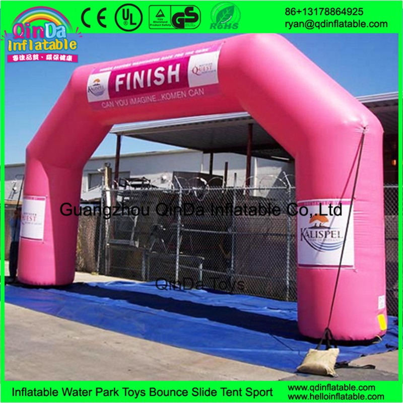 inflatable arch finish line36