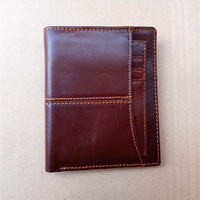 Cow Leather Men Wallets Vintage Designer Genuine Leather Men Wallets Famous Brand Portomonee Genuine Leather Wallets
