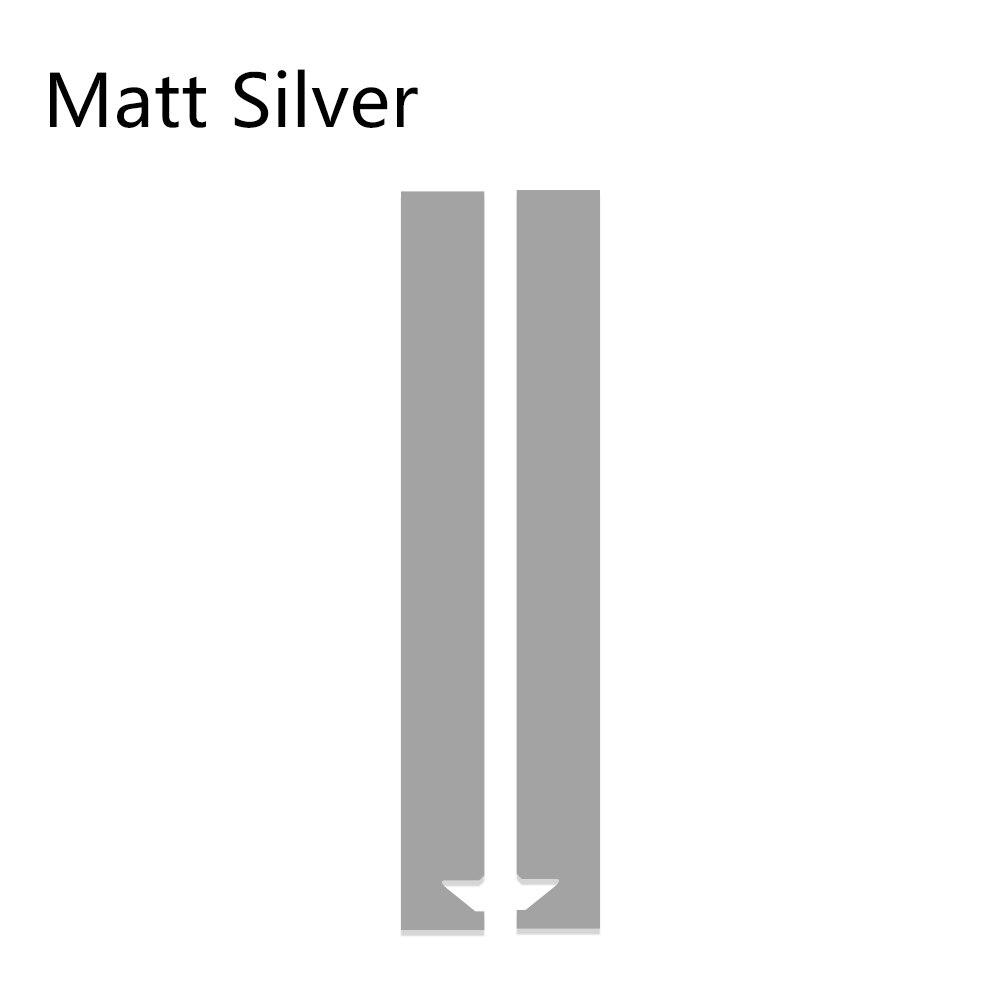 Авто полосы капот наклейки для автомобиля Стайлинг для MINI Cooper S One JCW R55 R56 R60 R61 F54 F55 F56 F60 земляк аксессуары - Название цвета: Matte Silver