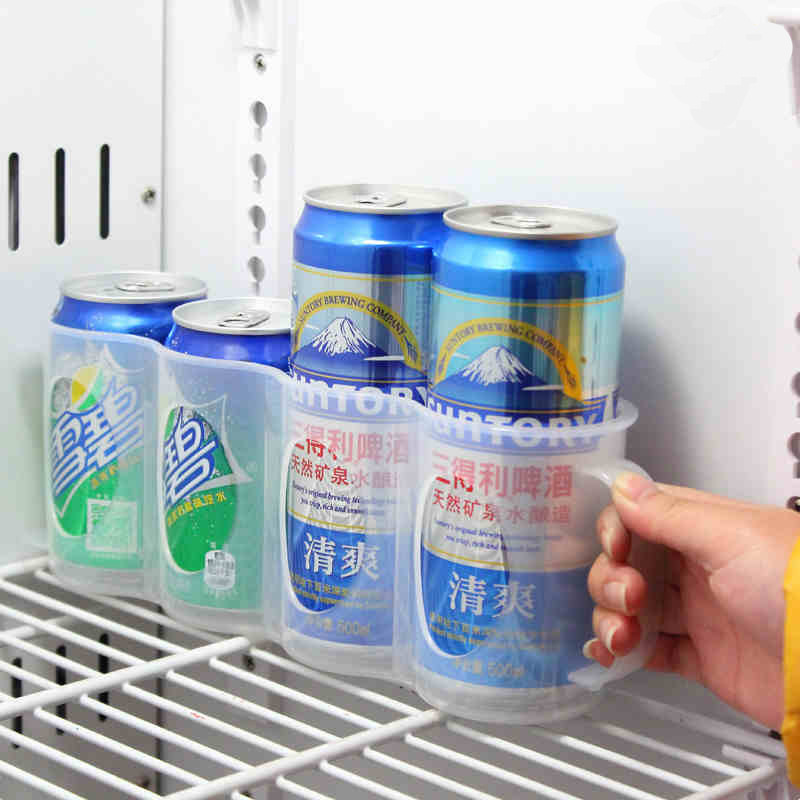 WALFOS-Useful-Refrigerator-Storage-Box-Kitchen-Accessories-Beverage-Can-Space-saving-Cans-Finishing-Four-Case-Organizer (3)