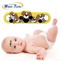 1 Pcs Testa Etiqueta Quatro Padrão de Temperatura Febre Do Corpo Do Bebê Termômetros Termômetros Lcd Digital ABS Médica Para Crianças