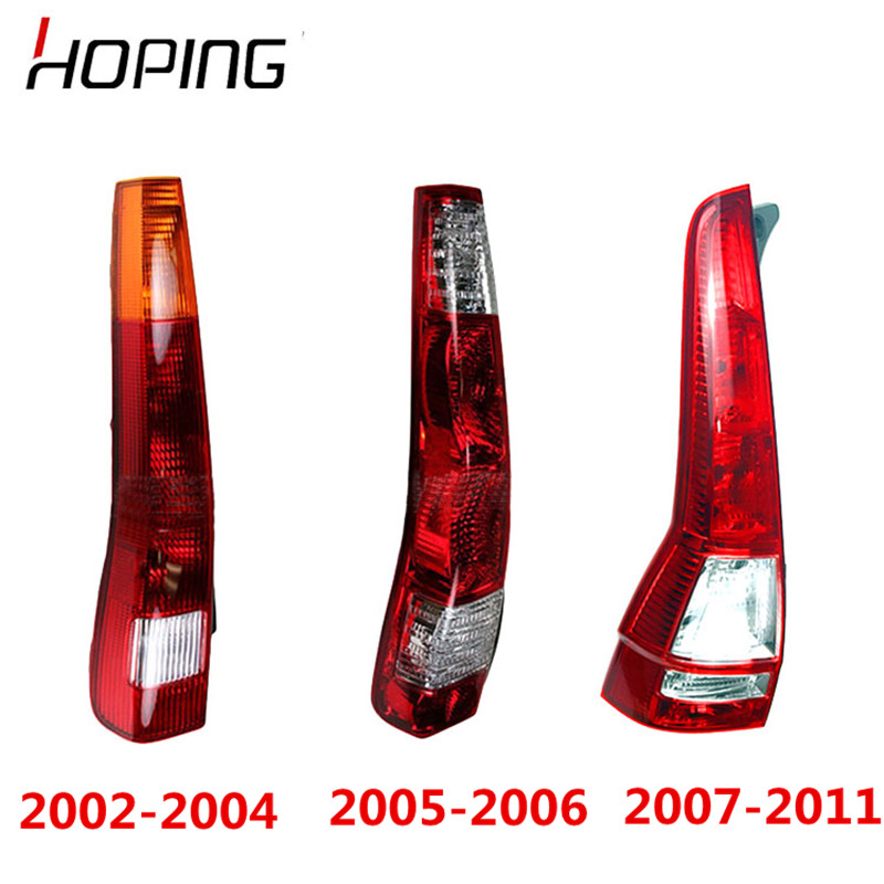 Hoping Auto Rear Brake Light Tail Light Lamp For HONDA CRV CR-V 2002 2003 2004 2005 2006 2007 2008 2009 2010 2011 Rear Stop Lamp футболка женская roxy dalena tee цвет белый erjkt03225 wbt0 размер 48 xl