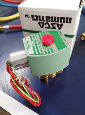 American ASCO Cryogenic Solenoid Valve 8262H114LT new rotation solenoid valve kwe5k 31 g24ya50 for excavator sk200 6e