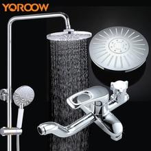 Wall Brass Chrome Faucet Gun Pressure Washer Bidet Handheld Shower  Stainless Steel Mixer Bathroom Shower Set