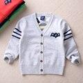 Nova marca outono inverno crianças camisolas malhas camisola das meninas dos meninos crianças blusas roupas de criança
