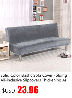 Table & Sofa Linens Sofa Cover Gray Solid Color Simple Sofa Cover Solid Color Slipcover Fabric Sofa Cover No Armrest Polyester All Seasons Cloth Art Anti-skid