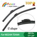 "Car winscreen Wiper blades for NISSAN TEANA (2013+), 16""+28"",Boneless, windshield, wiper rubber"