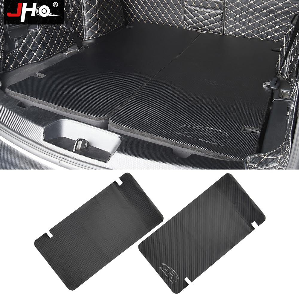 JHO Car Accessories Rear Trunk Cargo Seat Back Protective Cover Anti-dirty Stickers For Ford Explorer 2011-2019 18 17 16 15 14