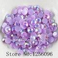 1000 unids/bolsa, SS30, 6mm, Arte Del Clavo, de Color púrpura Oscuro Jalea AB resina flatback Crystal rhinestone, caja del teléfono, el uso de pegamento, clavos, Decoración