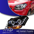 One-Stop Shopping Styling for Kia Soul Headlights 2012 Soul LED Headlight DRL Lens Double Beam H7 HID Xenon Car Accessories