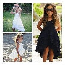 2018 Newest Girl Summer Dress Sweet Toddler Cotton Baby Kids Bohemia Dress Casual Fashion Beach Dresses Princess Dress