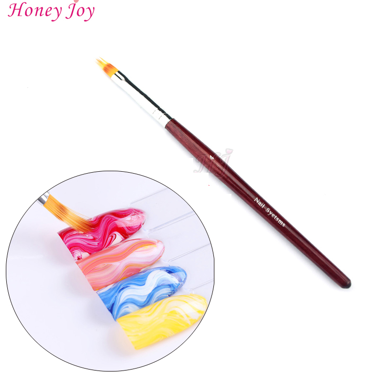 Pro Differ in Length Serrated Hair Painting Liner Pen Brush Nail Art Tools for Manicure Paint Brushes UV Nail Gel Polish Drawing