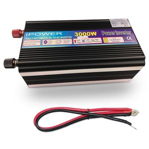 Image 5 - 3000W/6000W Power Inverter DC12V to AC 220V 230V 240V modified sine wave with wireless remote control EU UK AU universal socket