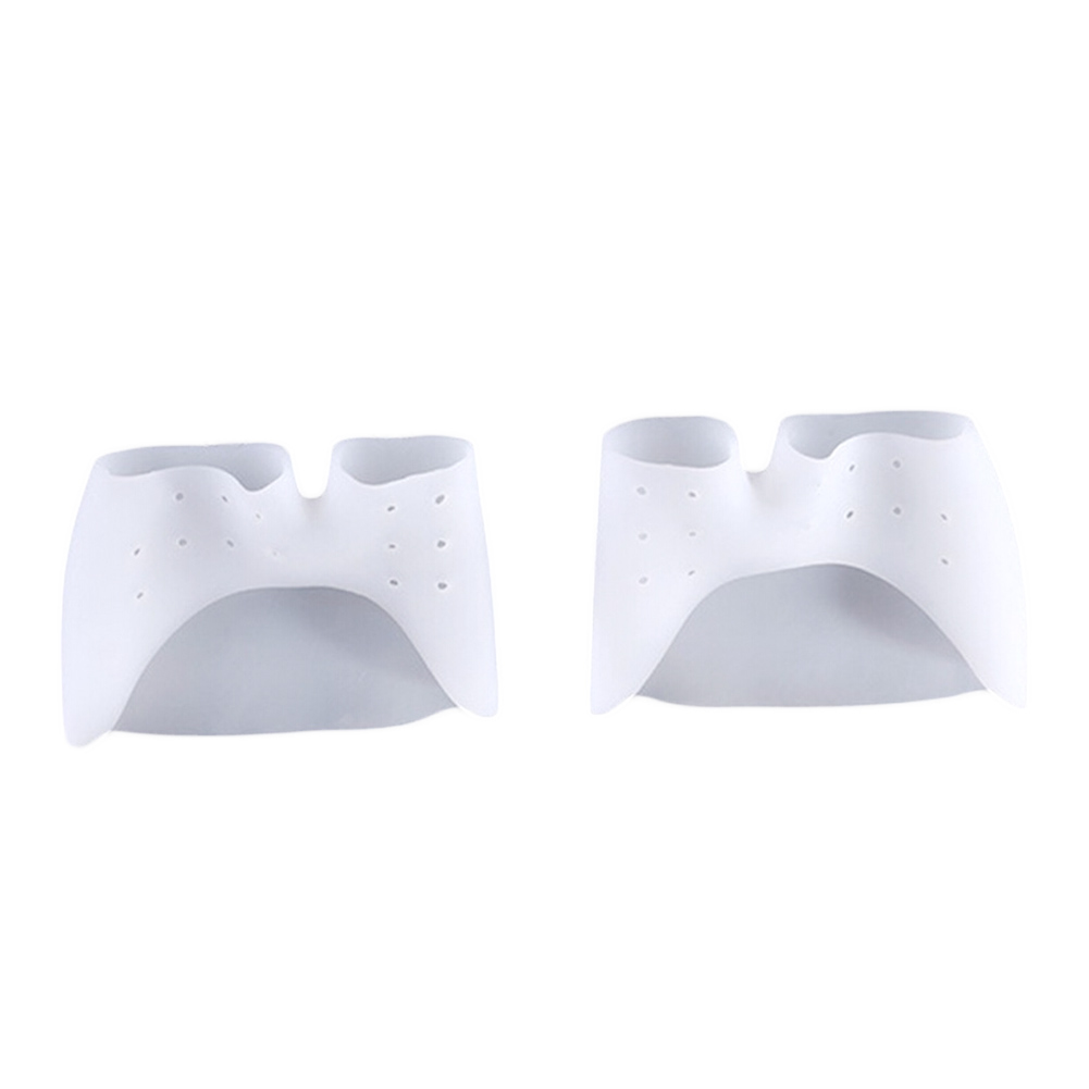 1 Pair High Quality Silicone Toe Sleeve Foot Protection Ballet Shoe High Heels Toe Pads Gel Protective Foot Care Massage